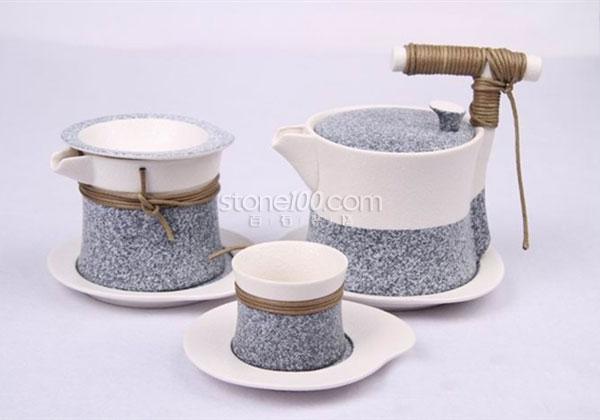 花岗岩化身小餐具,实用又美观